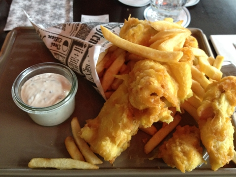 Fish & Chips im 25h Hafencity Hamburg