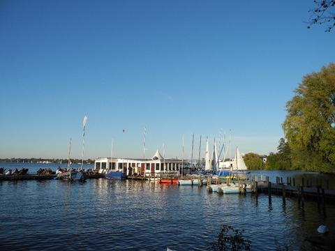 Hamburg Der Barca An Alster