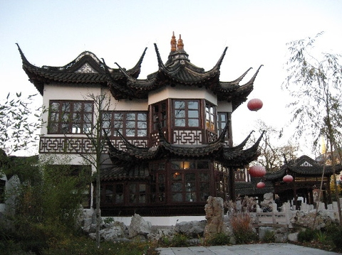 Chinesisches teehaus yu yuang hamburg harvestehude for Traditionelles chinesisches haus
